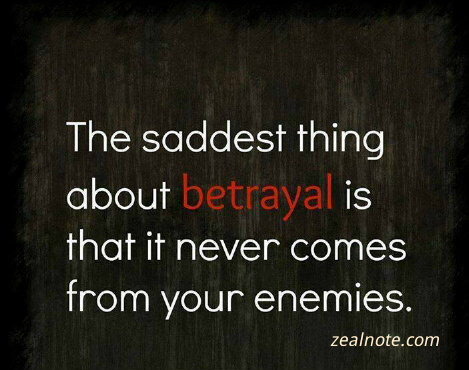 Sad Quotes About Love And Betrayal : ... sad quotes about friendship betrayal betrayal quotes family betrayal