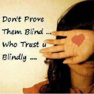 Blind Trust Zealnote