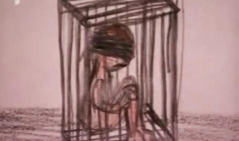 drawing-child-in-cage